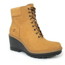 Timberland Women's Kellis Wheat Leather Wedge Ankle Boots A1KDQ - $1.779,64 MXN