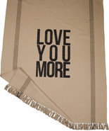 Primitives by Kathy Love You More Dark Throw, 68 by 51-Inch - $34.00