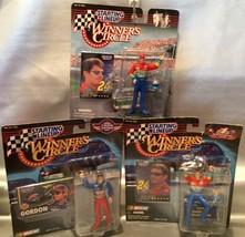 Jeff Gordon Racing Figures 1997 & 99 - Lot Of 3 Nascar #24 Sealed Pkgs - $12.68