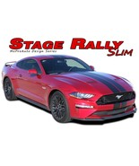 """2018 STAGE RALLY SLIM Ford Mustang Racing Stripes 7"""" Wide Decals Vinyl G... - $219.99"""