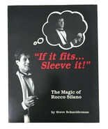 The MAGIC of ROCCO SILANO Book ALL THAT GLITTERS 1990 IF IT FITS SLEEVE ... - $24.74