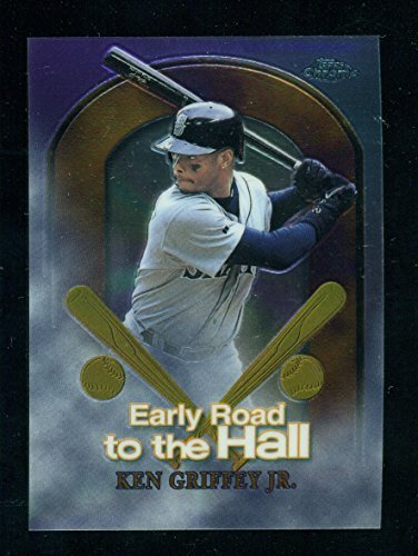 1999 Topps Chrome Ken Griffey Jr. Early Road to The Hall #ER5 - Baseball Card