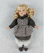 """Blonde Hair Doll With Brown Dress 10"""" Tall - $19.79"""