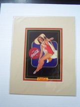 Coca-Cola Reproduction Matted Print - NEW  CC-16  FREE SHIPPING - $7.43