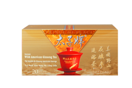 Prince of Peace Wild American Ginseng Instant Tea, 20 sachets - $19.42