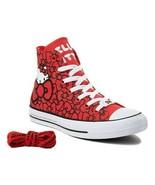 Converse x Hello Kitty Chuck Taylor All Star Hi Top Bow, 162995C Multi S... - $69.95