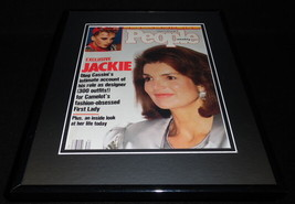 Jackie Kennedy Onassis Framed 11x14 ORIGINAL 1987 People Magazine Cover JFK - $34.64
