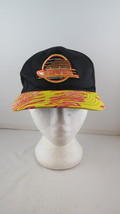Vancouver Canucks Hat (VTG) - Zubaz Brim  Black Body - Adult Snapback - $65.00
