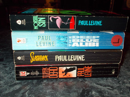 Paul Levine lot of 4 suspense paperback - $4.99