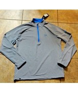 ADIDAS CLIMACOOL COMPETITION L/S PAC12 UCLA BRUINS MEN'S SZ SMALL 1/2 ZI... - $42.99