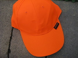 VTG Baseball Cap REALTREE ORANGE PLain no design trucker hat - $29.65
