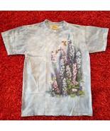 "The Mountain T-Shirt w/""Wild Wings"" Artwork by Susan Bourdet - Lt Blue - $17.79"