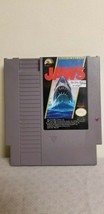Jaws (Nintendo NES, 1987) Video Game Cartridge with Instruction Manual - $16.82