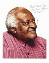 Bishop Desmond Tutu Autograph *Nobel Peace Prize Winner* Hand Signed 10x... - $90.00