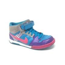 2009 Nike iD Dunk MID Mogan 6.0 Womens Size 9 370685 991 SKATEBOARDING Turquoise - $48.37