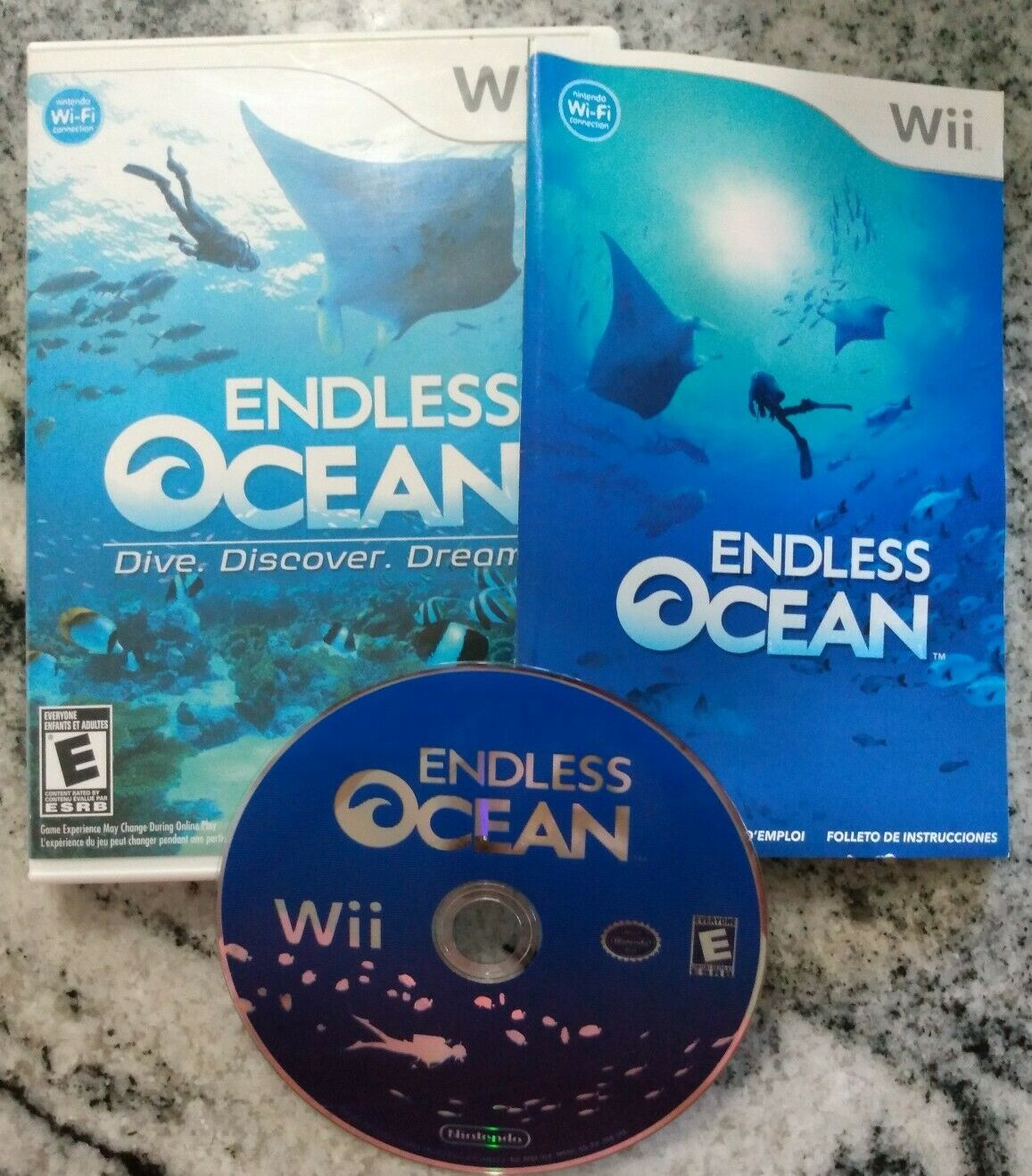Primary image for Wii Endless Ocean COMPLETE & TESTED Nintendo Wii Game 2008