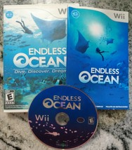 Wii Endless Ocean COMPLETE & TESTED Nintendo Wii Game 2008 - $9.46