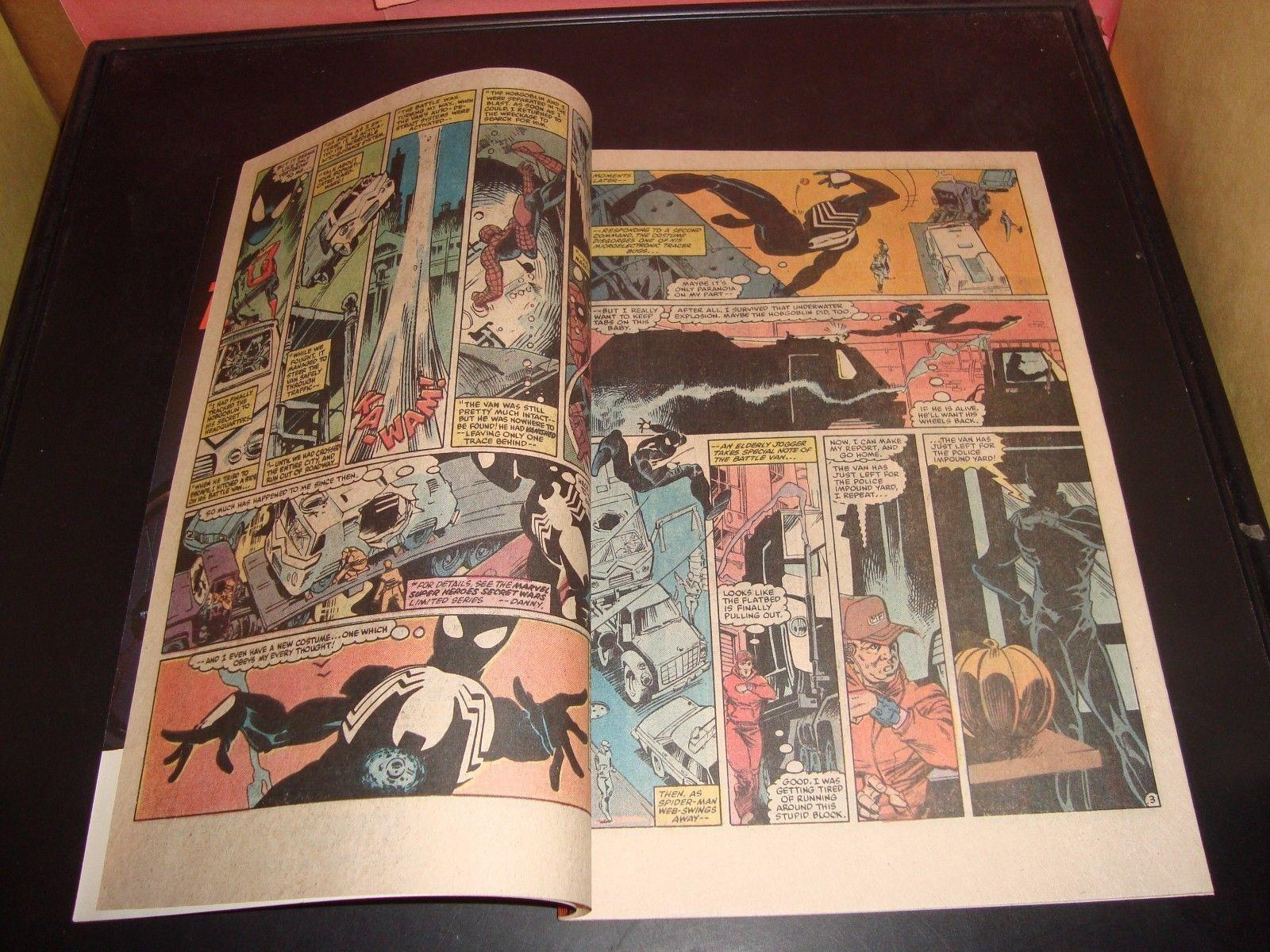 Amazing Spider-Man #254 Marvel Comic Book 1984 NM Condition 9.0 Black Costume