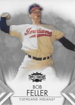 2012 Topps Triple Threads #85 Bob Feller NM-MT Cleveland Indians - $2.99
