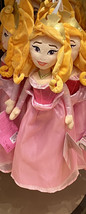 Disney Parks Aurora Sleeping Beauty 18 inch Plush Doll NEW - $36.90