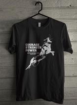 German Shepherd Courage Men's T-Shirt - Custom (1707) - $19.12+