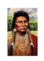 POSTCARD- Chief JOSEPH- Legends Of The West -FIRST Day Issue BK11 - $2.91