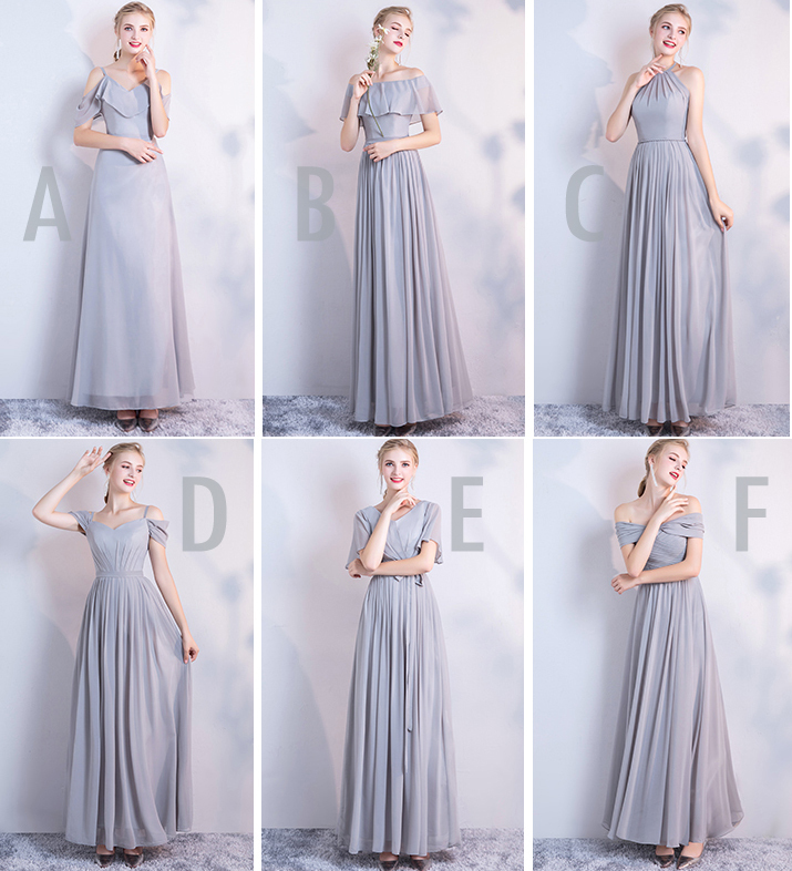 Dusty blue bridesmaid dress 15