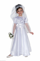 FORUM WEDDING BELLE BRIDE GIRL'S CHILD HALLOWEEN COSTUME SIZE TODDLER 2-... - $21.15