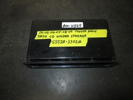 04 05 06 07 08 09 Toyota Prius Dash Cd Holder Storage #55520-33020 *See Item* - $12.82