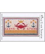 King Crab Sampler cross stitch chart Artful Offerings  - $9.00