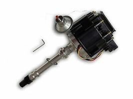 SBC BBC Chevy 305 350 454 V8's HEI Coil Distributor w/ Black Cap 50k 50,000 Volt