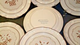 Stoneware Cumberland Mayblossom Dinner Plate by Hearthside Replacement pieces AA image 4