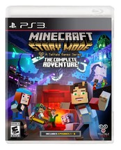 Minecraft: Story Mode- The Complete Adventure - PlayStation 3 - $22.84