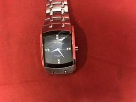 Men's Armitron Stainless Steel Swarovski Accented Quartz Watch 20/4507SV - $39.19