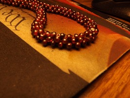 A BEAUTIFUL 24 in.>  GARNET NECKLES FROM A  GEMOLOGIST /  JEWELER IN NEW... - $118.75