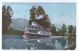Steamer Idaho St Joe River Idaho 1908 postcard - $4.46
