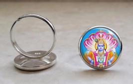 925 Sterling Silver Ring Choose Hindu Deity Hinduism God Goddess - $39.00