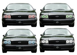 for Chevrolet Impala 91-96 RGB Multi Color LED Halo kit for Headlights - $137.91