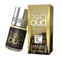 Oud 3ml Perfume Oil by Karamat Collection Floral Musk Wood Patchouli Saffron - $2.98