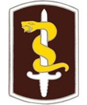 US Army 30th Medical Command Combat Service Badge (2 inch) - $14.84