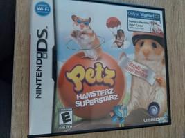 Nintendo DS Petz Hamsterz Superstarz image 1