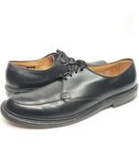 ALLEN EDMONDS Brentwood Men's Moc-Toe Derby Black Dress Shoes Size 14 B ... - $60.78