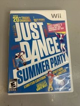 Just Dance: Summer Party Limited Edition (Nintendo Wii, 2011) Complete &... - $10.39
