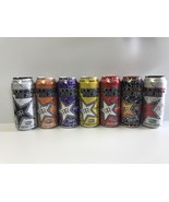 Rockstar Energy Drink Pure Zero 16oz Full Cans Lot. Total 7 Cans - $29.96