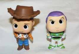 New Funko Mystery Minis Toy Story 4 Buzz Lightyear Woody 2 Pack Cowboy - $12.86