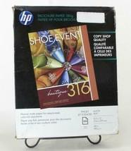 """HP Q5445A Matte Brochure & Flyer Paper 100 Sheets 8.5"""" x 11"""" [ 48 lb ] - $27.72"""