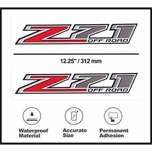 Z71 Decal Z71 Off Road Replacement Stickers for Chevy Silverado Z71 Truck Red x  - $21.87