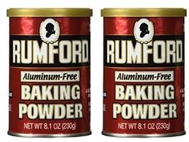 Rumford Baking Powder, 8.1 oz (Pack of 2) - $12.81