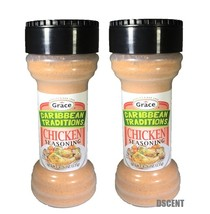 2PCK Grace Caribbean Traditions Chicken Seasoning Authentic Mix of Herbs... - $12.86