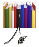 Roadkill Starling Pewter Emblem Pattern bookmark for books organisers co... - $10.50